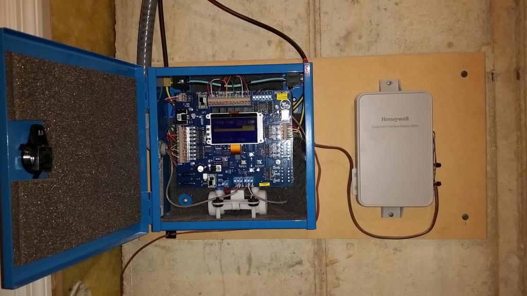 Arzel Control panel